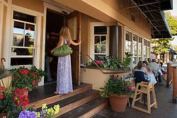 North America, United States, Washington, Bellevue. 520 Bar and Grill restaurant in Old Bellevue