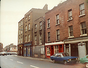 Old Dublin Amature Photos July 1983 WITH, Broadstone House, Steps, North Kings St, Mountjoy, St, Convent, Cullens 53, Whiskey Still, Kings Inn, HILLMAN AVENGER CAR, FORD ESCORT, MK2, Old amateur photos of Dublin streets churches, cars, lanes, roads, shops schools, hospitals