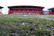 A general view of the stadium prior to the EFL Sky Bet League 1 match between Barnsley and Charlton Athletic at Oakwell, Barnsley, England on 29 December 2018.