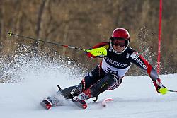 14.02.2011, Kandahar, Garmisch Partenkirchen, GER, FIS Alpin Ski WM 2011, GAP, Herren, Super Combination, im Bild Tin Siroki (CRO) // Tin Siroki (CRO) during Supercombi Men Fis Alpine Ski World Championships in Garmisch Partenkirchen, Germany on 14/2/2011. EXPA Pictures © 2011, PhotoCredit: EXPA/ J. Groder