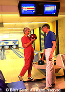 Active Aging Senior Citizens, Retired, Activities, Bowling, Bowling Hall