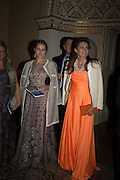 VALENTINA ARTSINOVICH, GALINA GURINOV, Professor Mikhail Piotrovsky Director of the State Hermitage Museum, St. Petersburg and <br /> Inna Bazhenova Founder of In Artibus and the new owner of the Art Newspaper worldwide<br /> host THE HERMITAGE FOUNDATION GALA BANQUET<br /> GALA DINNER <br /> Spencer House, St. James's Place, London<br /> 15 April 2015