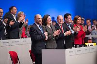DEU, Deutschland, Germany, Berlin, 07.12.2017: Der SPD-Parteivorsitzende Martin Schulz nach seiner Rede auf dem Bundesparteitag der SPD im CityCube.