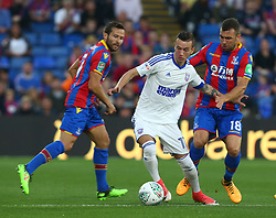 August 22, 2017 - London, England, United Kingdom - Ipswich Town's Bersant Celina .during Carabao Cup 2nd Round   match between Crystal Palace and Ipswich Town at Selhurst Park Stadium, London,  England on 22 August 2017. (Credit Image: © Kieran Galvin/NurPhoto via ZUMA Press)