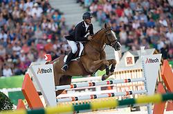 Andrew Nicholson, (NZL), Nereo - Jumping Eventing - Alltech FEI World Equestrian Games™ 2014 - Normandy, France.<br /> © Hippo Foto Team - Jon Stroud<br /> 31-08-14