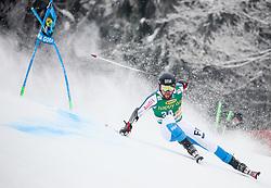 Samu Torsti of Finland competes during 1st run of Men's GiantSlalom race of FIS Alpine Ski World Cup 57th Vitranc Cup 2018, on March 3, 2018 in Kranjska Gora, Slovenia. Photo by Ziga Zupan / Sportida
