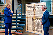 Koning brengt werkbezoek aan jubilerend Brabants Dagblad