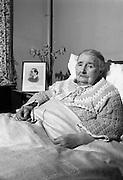 22/03/1966<br /> 03/22/1966<br /> 22 March 1966<br /> Senator Miss Margaret Pearse at Linden Convalescent Home, Blackrock, Co. Dublin.