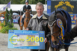 Bijlsma Maaike - Vedor, Johan Heins<br /> World Championship Young Horses Lanaken 2008<br /> Photo Copyright Hippo Foto