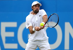 France's Jeremy Chardy during day four of the 2017 AEGON Championships at The Queen's Club, London.