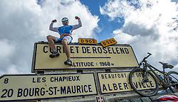 16-09-2017 FRA: BvdGF Tour du Mont Blanc day 7, Beaufort<br /> De laatste etappe waar we starten eindigen we ook weer na een prachtige route langs de Mt. Blanc / Eric