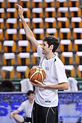 DESCRIZIONE : Campionato 2014/15 Dinamo Banco di Sardegna Sassari - Dolomiti Energia Aquila Trento Playoff Quarti di Finale Gara3<br /> GIOCATORE : Davide Pascolo<br /> CATEGORIA : Before Pregame<br /> SQUADRA : Dolomiti Energia Aquila Trento<br /> EVENTO : LegaBasket Serie A Beko 2014/2015 Playoff Quarti di Finale Gara3<br /> GARA : Dinamo Banco di Sardegna Sassari - Dolomiti Energia Aquila Trento Gara3<br /> DATA : 22/05/2015<br /> SPORT : Pallacanestro <br /> AUTORE : Agenzia Ciamillo-Castoria/L.Canu