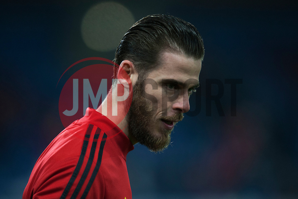 David De Gea of Manchester United warms up - Mandatory by-line: Jack Phillips/JMP - 28/12/2019 - FOOTBALL - Turf Moor - Burnley, England - Burnley v Manchester United - English Premier League