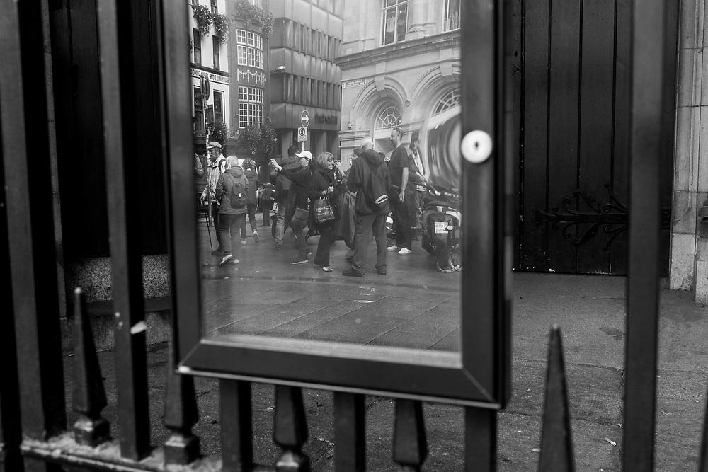 Reflections in Dublin, Ireland.