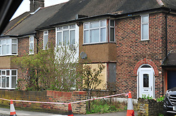 © Licensed to London News Pictures.10/04/2018<br /> HITHER GREEN, UK.<br />  Hither Green Burglary Murder. South Park Crescent,Hither Green.<br />  The home of 78 year old Richard Osborn-Brooks who stabbed a burglar to death in his home.<br /> Photo credit: Grant Falvey/LNP