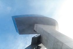 03.01.2016, Bergisel Schanze, Innsbruck, AUT, FIS Weltcup Ski Sprung, Vierschanzentournee, Probedurchgang, im Bild Blick auf den Turm der Bergisel Schanze im Nebel // View of the Tower of the Bergisel Hill in the Fog before the Trial Jump for the Four Hills Tournament of FIS Ski Jumping World Cup at the Bergisel Schanze, Innsbruck, Austria on 2016/01/03. EXPA Pictures © 2016, PhotoCredit: EXPA/ JFK
