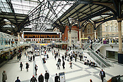 Interior station in London