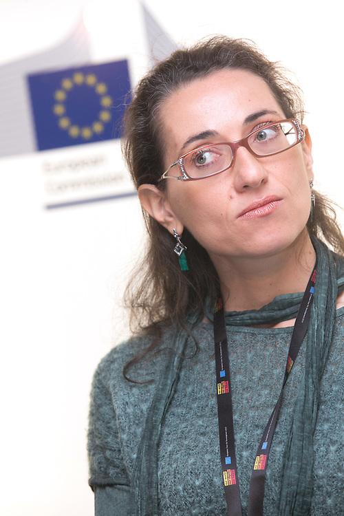 03 June 2015 - Belgium - Brussels - European Development Days - EDD - Food - Small-scale farming and sustainable food systems - Adriana Opromolla , International Advocacy Officer , Caritas Internationalis © European Union