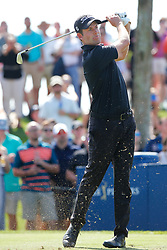 March 15, 2019 - Ponte Vedra Beach, FL, U.S. - PONTE VEDRA BEACH, FL - MARCH 15: Webb Simpson of the United States plays a shot on the third hole during the second round of THE PLAYERS Championship on March 15, 2019 on the Stadium Course at TPC Sawgrass in Ponte Vedra Beach, Fl.  (Photo by David Rosenblum/Icon Sportswire) (Credit Image: © David Rosenblum/Icon SMI via ZUMA Press)