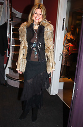 NICOLE HAMBRO at a party hosted American House and Garden magazine with Tomasz Starzewski and Nina Campbell to celebrate the British Issue of the magazine, held at 14 Stanhope Mews West, London SW7 on 13th March 2005.<br />