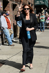 May 13, 2015 - New York, NY, USA - May 13, 2015 New York City..Julia Roberts arrives to tape appearance on the Late Show with David Letterman on May 13, 2015 in New York City  (Credit Image: © Kristin Callahan/Ace Pictures/ZUMA Wire)