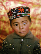 Toorkhan Boi, son of Sufi, son of camp leader Sufi Abdul Wahid..Campment of Ortobil (Sufi), all the way at the end of the Little Pamir, near the Tajik/China border. .Winter expedition through the Wakhan Corridor and into the Afghan Pamir mountains, to document the life of the Afghan Kyrgyz tribe. January/February 2008. Afghanistan