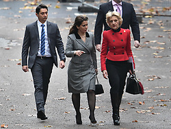 © Licensed to London News Pictures. 15/11/2019. London, UK. Princess Haya Bint Al Hussein is seen arriving at The Family Court devision of the Royal Courts of Justice in London where Sheikh Mohammed bin Rashid Al Maktoum and his wife Princess Haya Bint Al Hussein are currently in legal dispute over custody of thir children. Princess Haya Bint Al Hussein has applied for a protection order and is seeking wardship of her children. Photo credit: Ben Cawthra/LNP