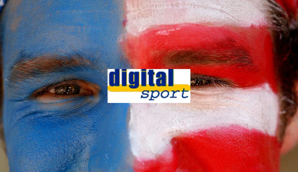 Photo: Steve Bond.<br /> USA v Czech Republic. Group E, FIFA World Cup 2006. 12/06/2006.<br /> USA fan before their match with Czech Republic.
