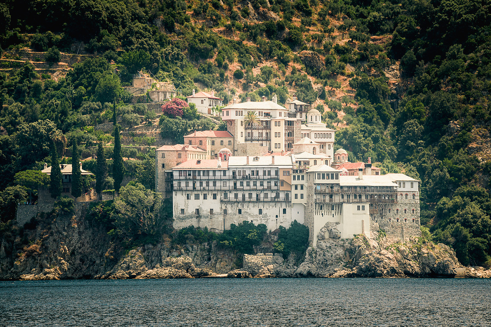 The Holy Monastery of Saint Gregory in Monastic Republic of Mount Athos, Greece