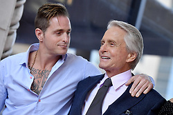 Michael Douglas honored with star on the Hollywood Walk of Fame. Hollywood, California. 06 Nov 2018 Pictured: Michael Douglas,Cameron Douglas. Photo credit: AXELLE/BAUER-GRIFFIN / MEGA TheMegaAgency.com +1 888 505 6342