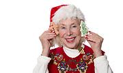 Grandma Christmas Cookies with smile face