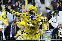 FOOTBALL - FRENCH CUP 2011/2012 - FINAL - OLYMPIQUE LYONNAIS v US QUEVILLY - 28/04/2012 - PHOTO JEAN MARIE HERVIO / REGAMEDIA / DPPI - FAN QUEVILLY