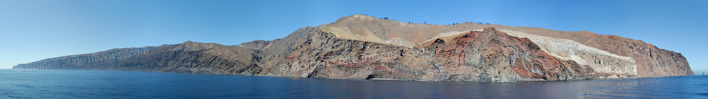 Guadalupe Island is a remote eastern pacific island located roughly 150 miles off the coast of Baja Mexico and about 250 miles southwest of Ensenada. Panoramic available up to 19174x2677 pixels.