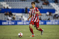 August 2, 2018 - Sabadell, Spain - 08 Pere Pons from Spain of Girona FC during the friendly game against the CE Sabadell of the 2018/2019 La Liga pre season in la Nova Creu Alta Stadium, Sabadell on 02 of August of 2018. (Credit Image: © Xavier Bonilla/NurPhoto via ZUMA Press)