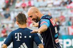 August 2, 2017 - Munich, Germany - Pepe Reina of Naples during the Audi Cup 2017 match between SSC Napoli v FC Bayern Muenchen at Allianz Arena on August 2, 2017 in Munich, Germany. (Credit Image: © Paolo Manzo/NurPhoto via ZUMA Press)