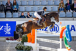 BINGOLD Leila (GER), Chiara II<br /> NetAachen-Preis - Junge Reiter<br /> CSIY - Springprüfung mit Stechen 1.45m <br /> Aachen - Jumping International 2020<br /> 06. September 2020<br /> © www.sportfotos-lafrentz.de/Stefan Lafrentz