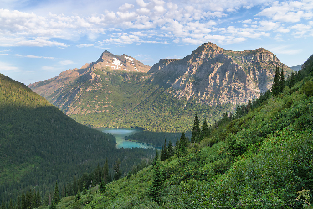 Long Knife Peak and Upper Kintla Lake Glacier National Park