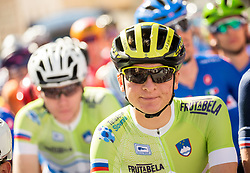 Jaka Primozic of Slovenia during the Men Under 23 Road Race 179.9km Race from Kufstein to Innsbruck 582m at the 91st UCI Road World Championships 2018 / RR / RWC / on September 28, 2018 in Innsbruck, Austria.  Photo by Vid Ponikvar / Sportida