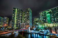 Icon Urban Complex @ Night, Brickell