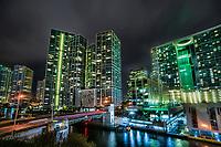 Icon Urban Complex @ Night, Brickell