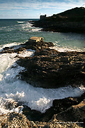Even as little kids, we would walk the two miles or so from our home on Penmere Hill to this spectacular and popular rocky point of Pendennis Head, just below the famous Henry Eighth Castle. To us, the little fortified blockhouse was a castle in it's own right, and although signs have now been erected to prohibit climbing, we would always be finding new ways of getting onto the ramparts. This was pure magic, and this often stormy point still provides a Sunday viewpoint for hundreds of Falmouth locals.