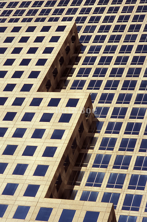 close up view of modern architecture