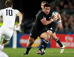 © Andrew Fosker / Seconds Left Images 2011 - New Zealand's Keven Mealamu France v New Zealand - Rugby World Cup 2011 - Final - Eden Park - Auckland - New Zealand - 23/10/2011 -  All rights reserved..