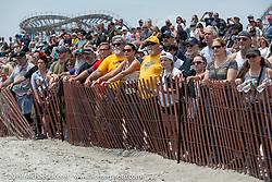 Fans at TROG (The Race Of Gentlemen). Wildwood, NJ. USA. Sunday June 10, 2018. Photography ©2018 Michael Lichter.