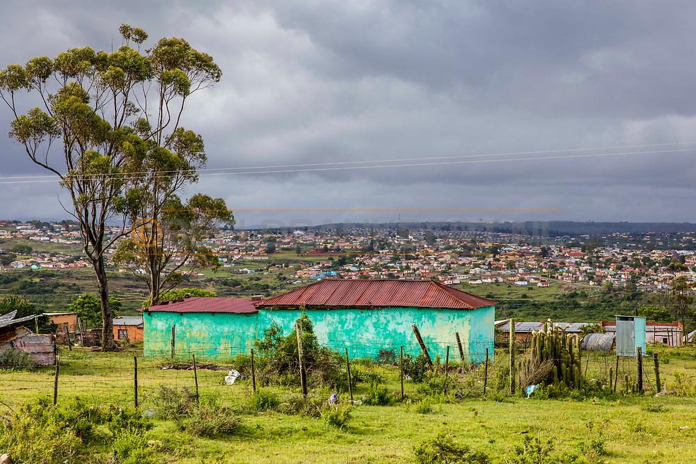 07-11-2017 Foto's genomen tijdens een persreis naar Buffalo City, een gemeente binnen de Zuid-Afrikaanse provincie Oost-Kaap. Mlakalaka - Kleurrijke townships