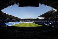 A view of Cardiff City Stadium before Cardiff's opening Skybet football league championship match, Cardiff city v Fulham at the Cardiff city stadium in Cardiff, South Wales on Saturday 8th August  2015.<br /> pic by Carl Robertson, Andrew Orchard sports photography.