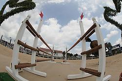 Bravard Salome (FRA) - Oplemousse Hoy<br /> FEI European Jumping Championship for children <br /> Arezzo 2014<br /> © Hippo Foto - Stefano Secchi