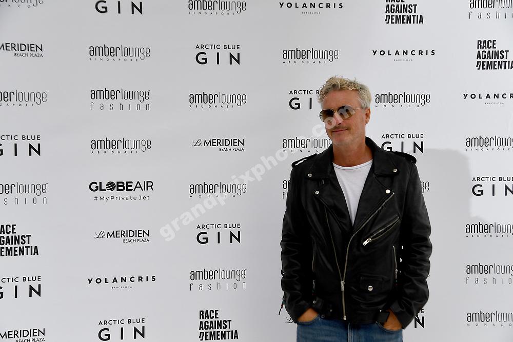 Eddie Irvine at Amber Lounge fashion show before the 2019 Monaco Grand Prix. Photo: Grand Prix Photo