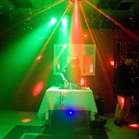 041113       Brian Leddy<br /> The Industry Gallery featured a DJ during their March ArtsCrawl show.