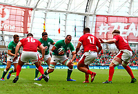 Rugby Union - 2019 pre-Rugby World Cup warm-up (Guinness Summer Series) - Ireland vs. Wales<br /> <br /> Rhys Ruddock in action for Ireland at The Aviva Stadium.<br /> <br /> COLORSPORT/KEN SUTTON